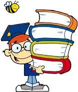 immagine studente con libri