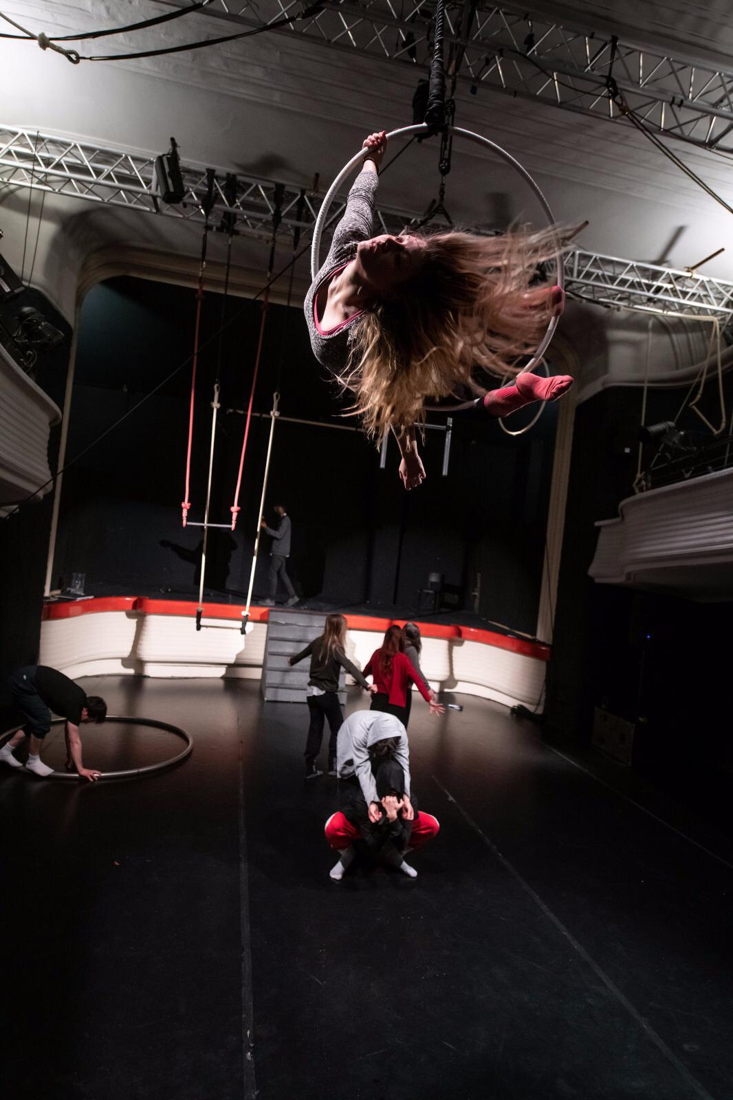 foto artisti del circo