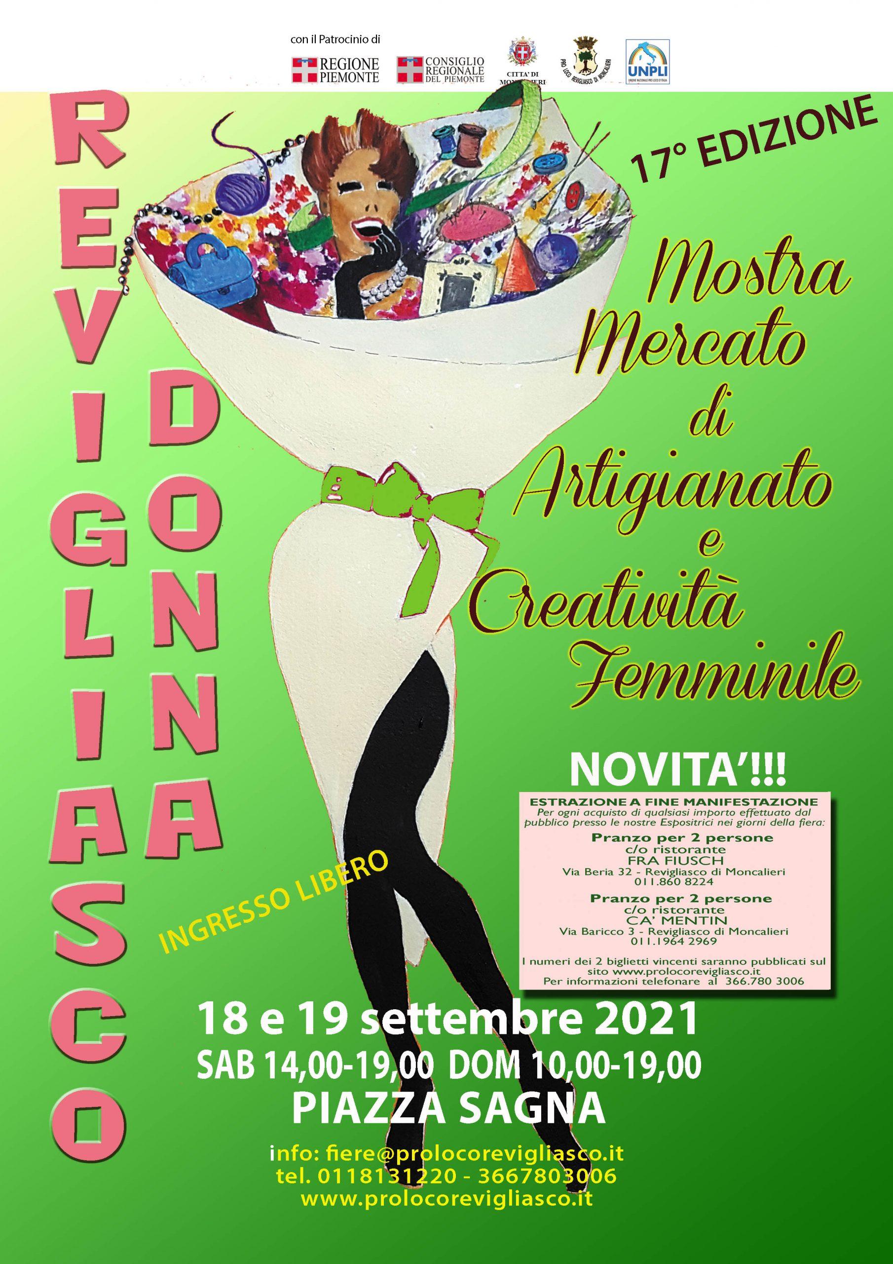 locandina Revigliasco Donna 2021