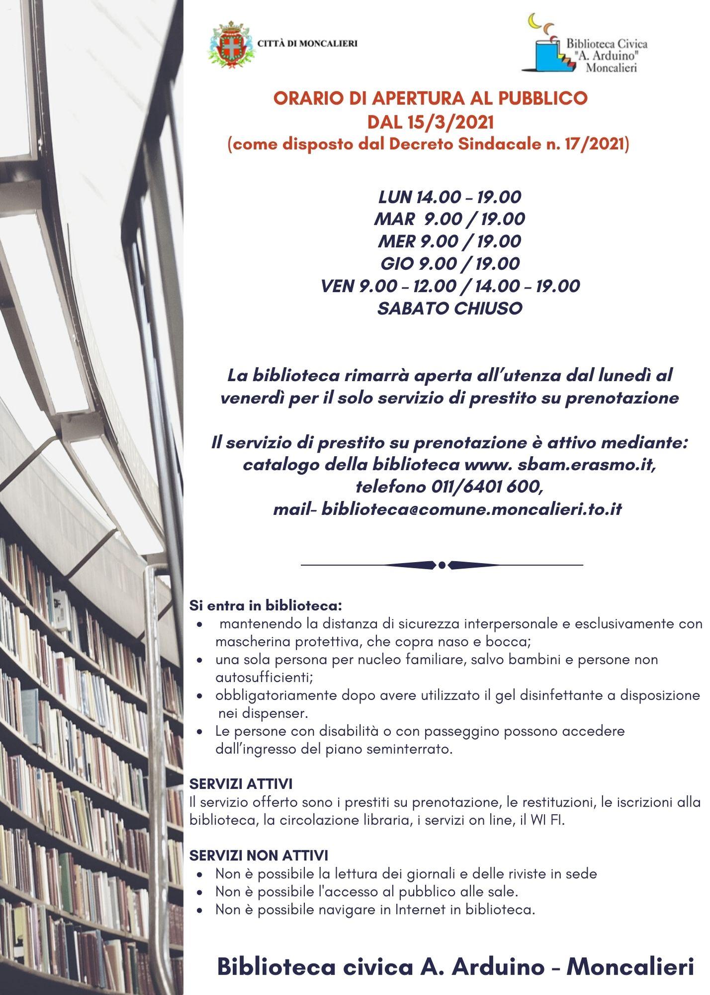 """Biblioteca Civica """"A. Arduino"""""""