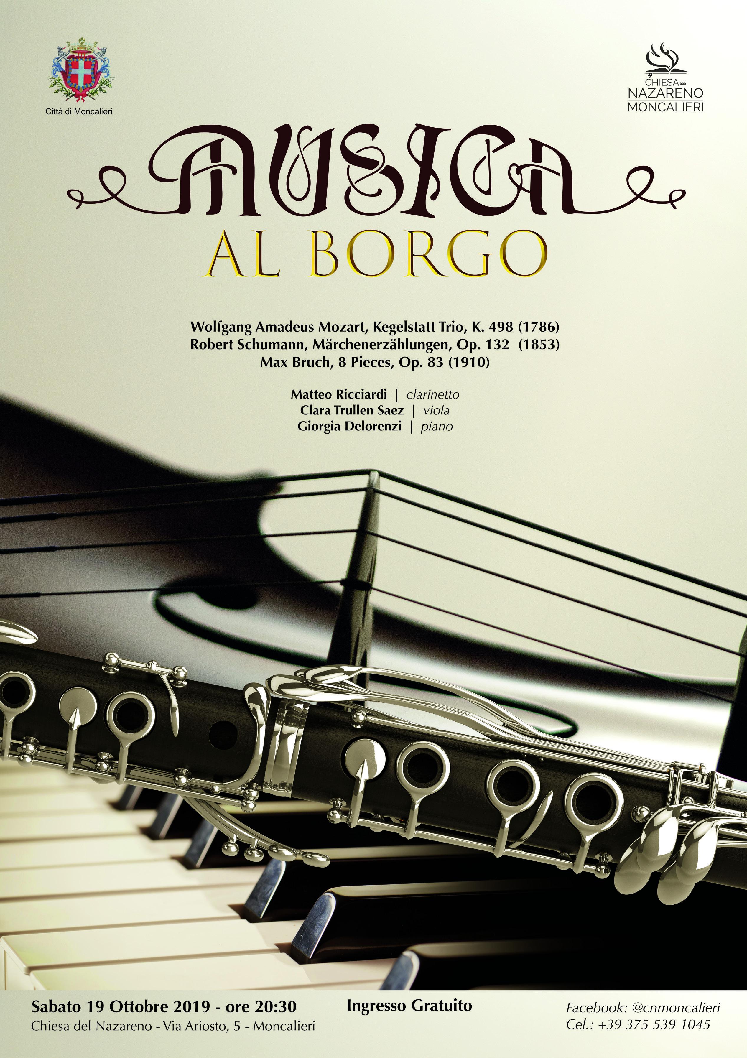 musica locandina