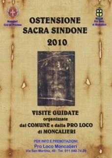 locandina visite Sindone