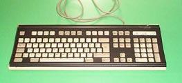 tastiera con scudo di protezione