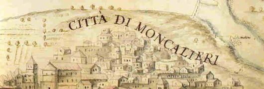 disegno antico di Moncalieri