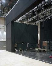 Fonderie teatrali Limone particolare del palco