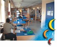 Biblioteca - La sala di consultazione
