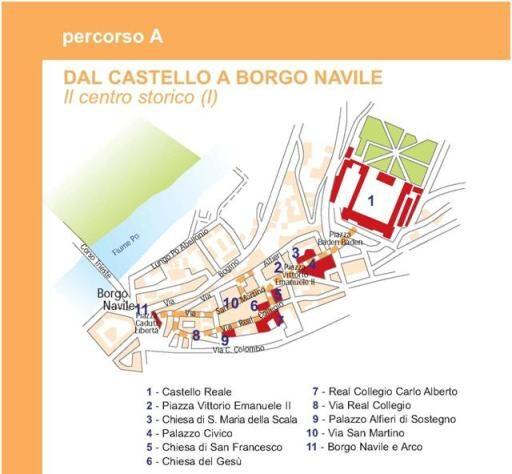 Percorso A dal Castello a Borgo Navile